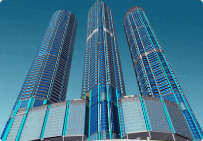 High-rise residential project